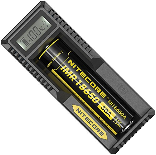 Nitecore UM10 Lithium Ion Battery Charger with Intelligent Charging System