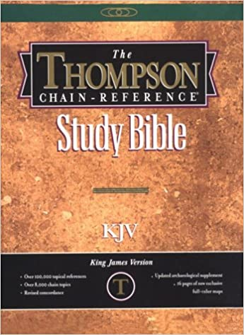 The Thompson Chain-Reference Study Bible/Kjv/Burgundy