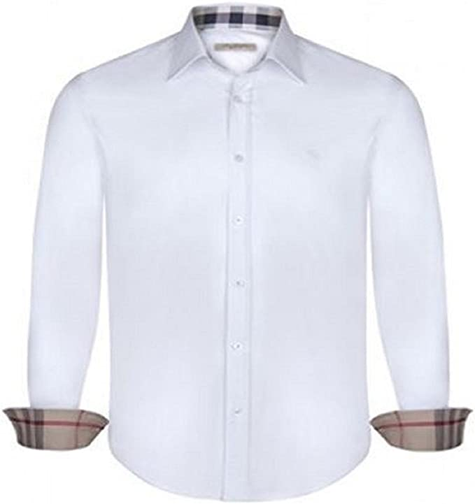 Burberry - Camisa Casual - Manga Larga - para Hombre Bianco M ...