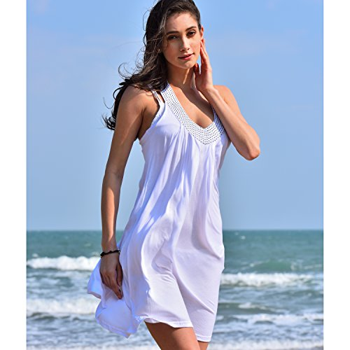 V-Neck Sleeveless Beachwear - 7