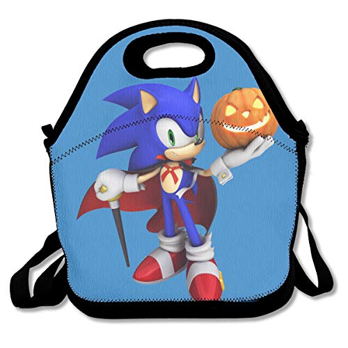 Halloween Sonic Art Insulated Lunch Bag/Lunch Box/Lunch Tote/Picnic Bags For Women/Men/Children/Teens/Adults Picnic Work School]()