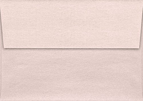 A1 Invitation Envelopes w/Peel & Press (3 5/8 x 5 1/8) - Coral Metallic - Stardream | Perfect for Notecards, Weddings, RSVP, Announcements | Square Flap | 81lb. Paper | 5365-M207-50