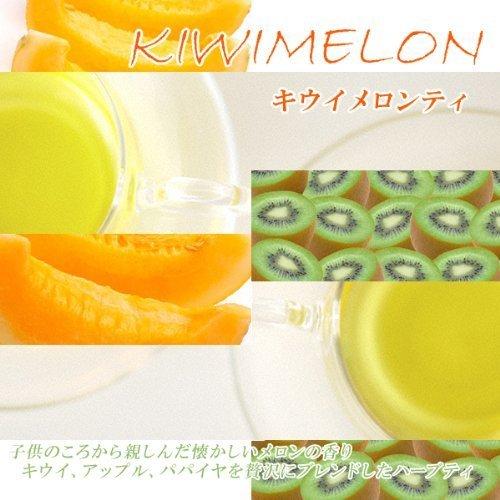 [Fruit tea] kiwimeron tea ''Kiwi Melon Tea'' (1000g) decaffeinated [for business] by Shops Tees clover tea (Image #1)