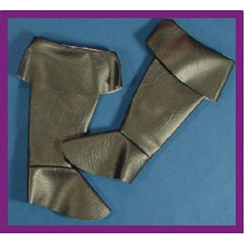 Alexanders Kostymer 11-183 Barn Pirat Boot Spats44; Small - Medium