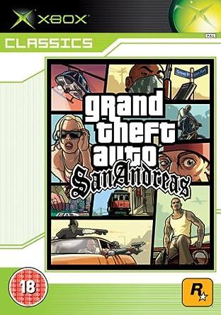 Grand Theft Auto : San Andreas - Classics (Xbox) [Xbox]: Amazon.es ...