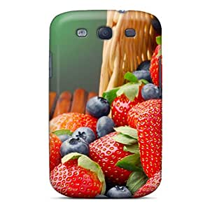 Hot New Berries Case Cover For Galaxy S3 With Perfect Design