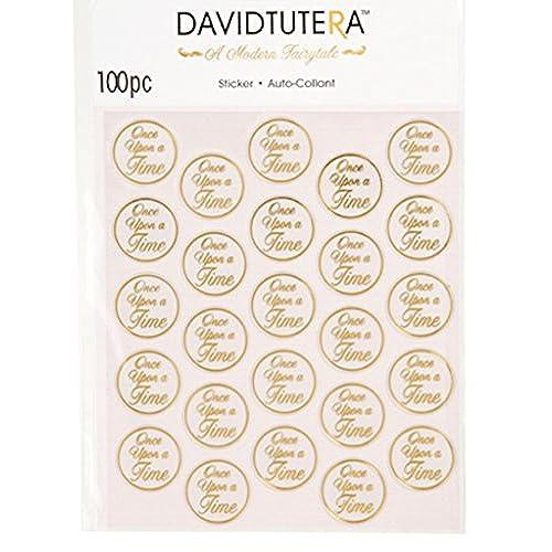 100 David Tutera Once Upon A Time Seals Gold Wedding Invitation Favors