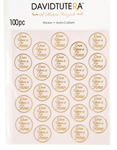 100 David Tutera Once Upon a Time Seals Gold Wedding Invitation Favors -