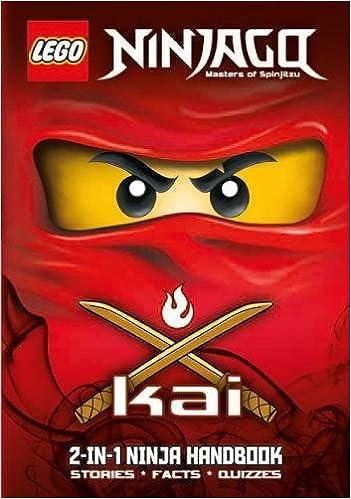 LEGO Ninjago: Kai/Zane 2-in-1 Ninja Handbook: Amazon.es ...