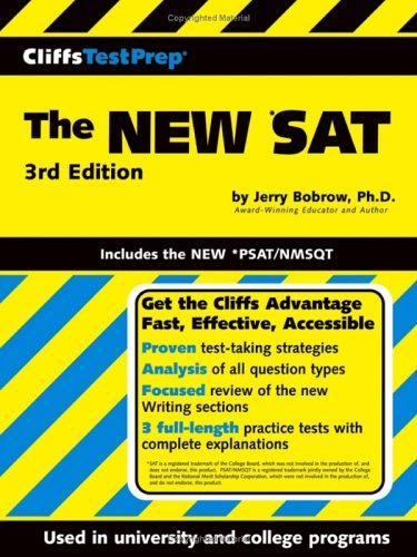 CliffsTestPrep The NEW *SAT: Includes the New *PSAT/NMSQT (Cliffs Test Prep SAT I/PSAT)