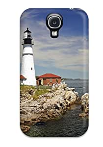 Logan E. Speck's Shop Hot Style Protective Case Cover For Galaxys4(lighthouse) 4914990K29081189