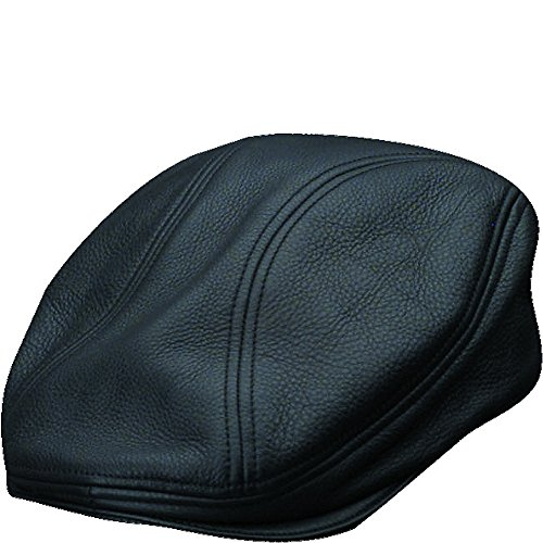 (Stetson Men's Oily Timber Leather Ivy Black MD)