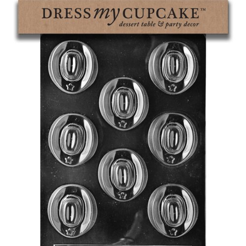 Dress My Cupcake Chocolate Candy Mold, Cowboy (Diy Cowboy Hat)