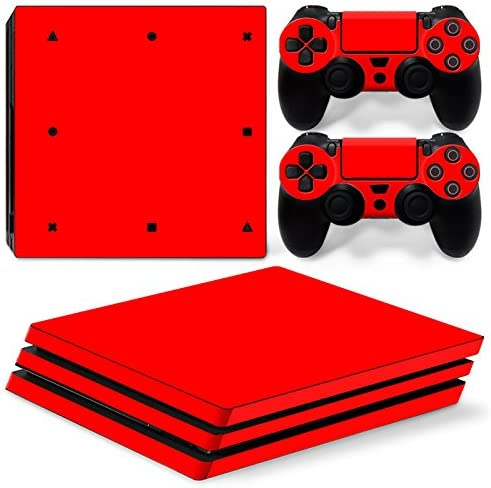 White Gam3Gear Vinyl Decal Protective Skin Cover Sticker for PS4 Pro Console /& Controller