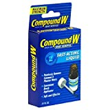 Compound W Wart Remover, Maximum Strength, Fast-Acting Liquid, 0.31-Ounce (Pack of 2)