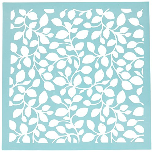 Kaisercraft T604 Scrapbooking Template, 12 by 12-Inch, - Leaf 12x12 Paper