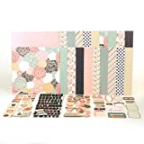 August Rosey Posey Paper Collection Kit Anthology by Lisa Bearnson