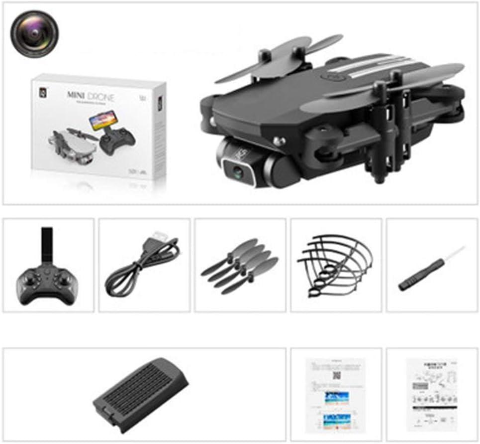 Quadcopter A/éReo HD Selfie RC Bater/ía Recargable Black Aircraft Avi/óN De Control Remoto Altitude Hold Auto Hovering WiFi FPV #N//A Mini Drone Helic/óPtero De Bolsillo Plegable