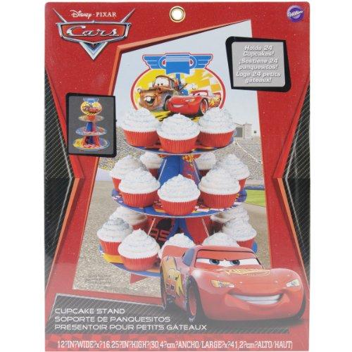 Wilton 3 Tier Cars-Cupcake Stand
