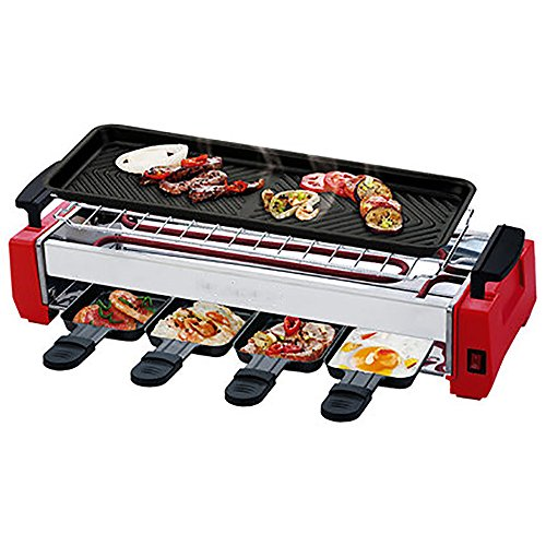 Portable Electric Grill Teppanyaki Table Grill Indoor Kitchen BBQ Hot Plate Barbecue