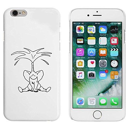Blanc 'Eau de Pulvérisation d'Éléphants' étui / housse pour iPhone 6 & 6s (MC00044006)
