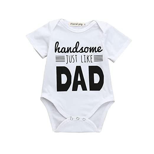 9a377baf6 2018 Summer Boys Girls Romper, Newborn Infant Baby Letter Print Jumpsuit  Outfits Clothes (White