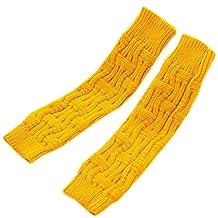 Arm Warmer Long Winter Half Fingerless Gloves Ladies Mittens Knitted Golves