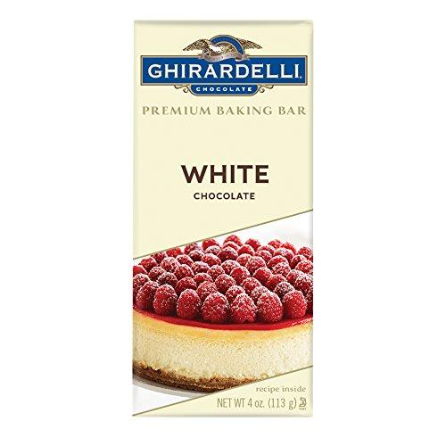 Ghirardelli Premium Baking bar, White Chocolate, 4 Oz (Pack Of 12) ()