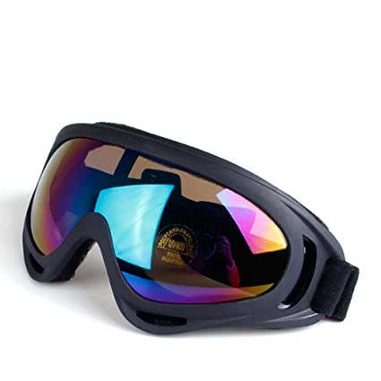 Multicolour Lens Dust-proof Goggles Motorcycle Motocross Dirt Bike Cycling Bicycle Skiing Snowboard Windproof Eyewear Glasses Modern Design Sports & Entertainment