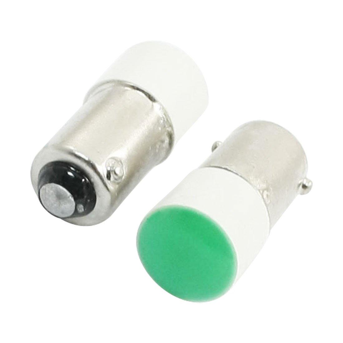 2BA9S Vert clair Accident indicateur LED Signal pilote Lampe 24V 5A Sourcingmap a14010900ux0989