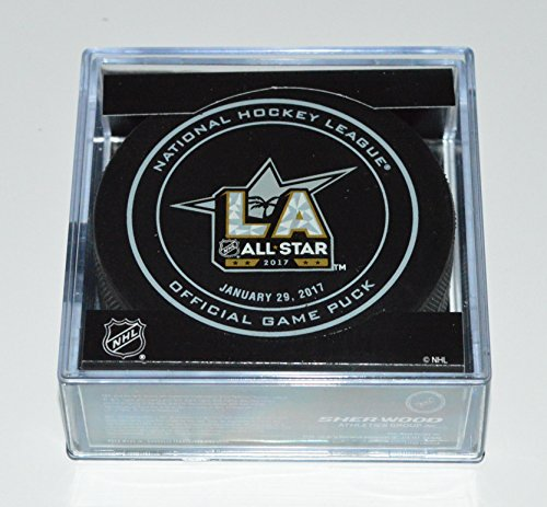 2017 NHL Los Angeles Kings All Star Official Game Puck with Case