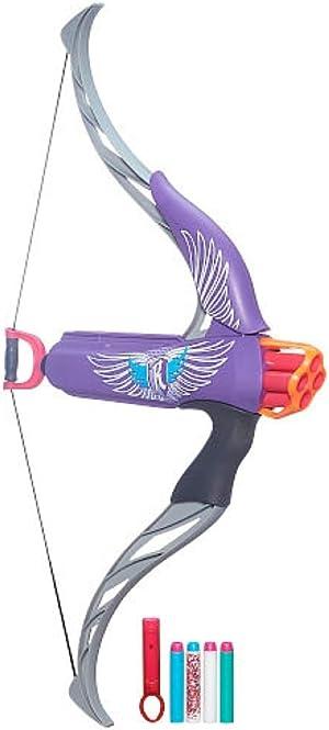 NERF Rebelle Strongheart Bow Blaster (Purple)