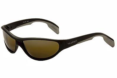 67a4d06aac Vuarnet sunglasses VL 0109 0001 Plastic Matt Black Brown with Mirror effect