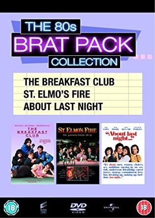 8ac0e737ca5 The 80s Brat Pack Collection (The Breakfast Club   St. Elmo s Fire   About