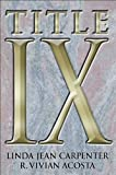 img - for Title IX by Linda Jean Carpenter (2004-08-24) book / textbook / text book