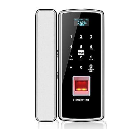 Amazon.com: CBA BING - Cerradura de puerta de cristal de ...
