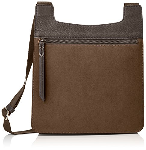 Ecsaine hombro bolsa grande (cielo Azul) marrón