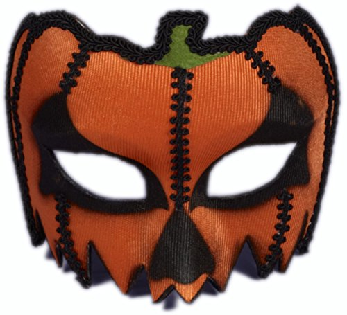 Forum Novelties Unisex-Adults Masks-Pumpkin W/Eyeglass Frame, Red, - Mask O-lantern Jack