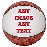 Personalized Custom Photo Mini Basketball - Any Image - Any Text - Any Logo