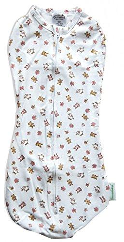SwaddlePod Baby Pucksack Reißverschluss Schlafsack Swaddleme Pucktuch Baumwolle