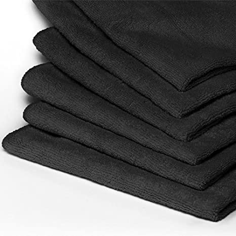 Pack of 40 Heininger 5413 GarageMate Red Microfiber Towel,