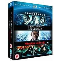 Prometheus / I, Robot / Abraham Lincoln Vampire Hunter Triple Pack