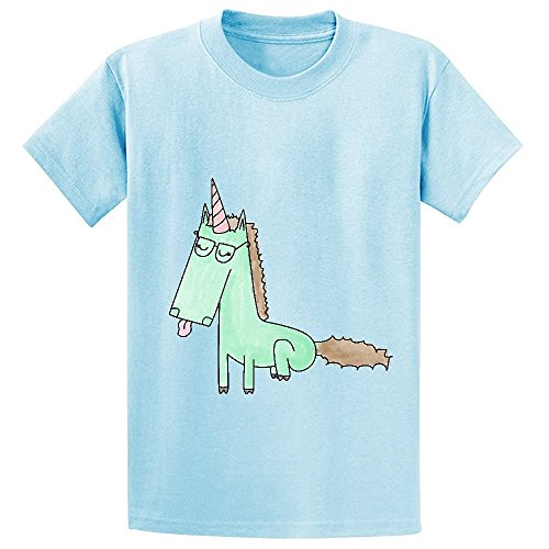 Chas Mintunicorn Child Crew Neck Print T-shirt L-blue