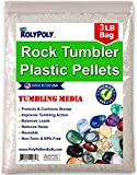 Plastic Pellets Rock Tumbling Media (3 LBS) for