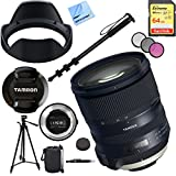Tamron SP 24-70mm f/2.8 Di VC USD G2 Lens for Nikon Mount with TAP-IN Console Plus SanDisk Extreme 64GB Memory Card