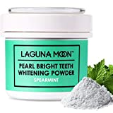 Beauty : Teeth Whitening Powder by Lagunamoon,Natural no Damage to Enamel or Gum Premier Alternative to Activated Charcoal Powder Easy Cleaning FDA Approved