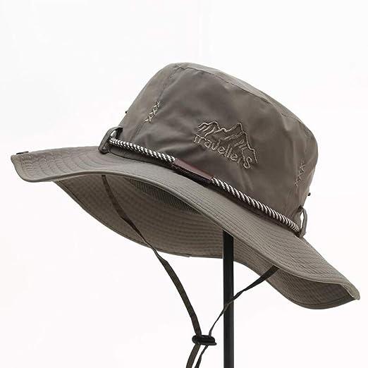 XUERUI Sombreros Sombrero para El Sol Verano Ocio Al Aire Libre ...