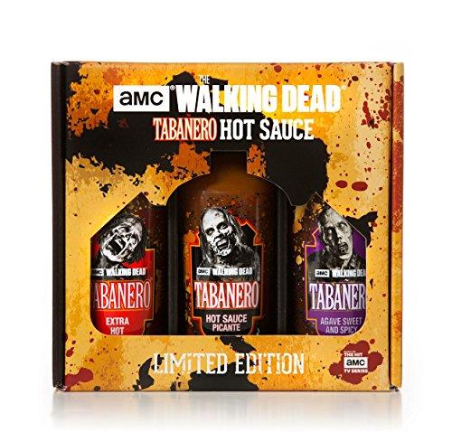 AMC The Walking Dead Hot Sauce Tri-Pack (8oz Bottles) by Tabañero