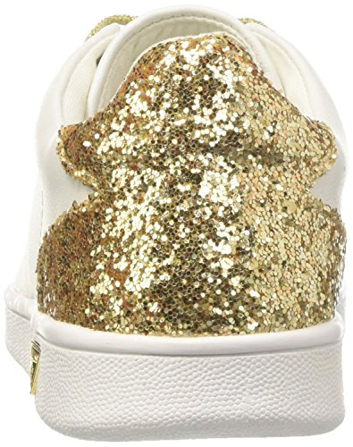 Guess Super2, Sneaker a Collo Basso Donna Multicolore (Whigo)