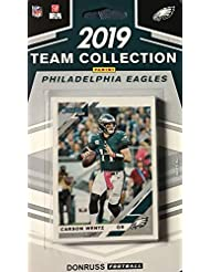 Philadelphia Eagles 2019 Donruss Factory Sealed 11 Card Team Set with Carson Wentz and 3 Rated Rookies Plus 7 Other Cards